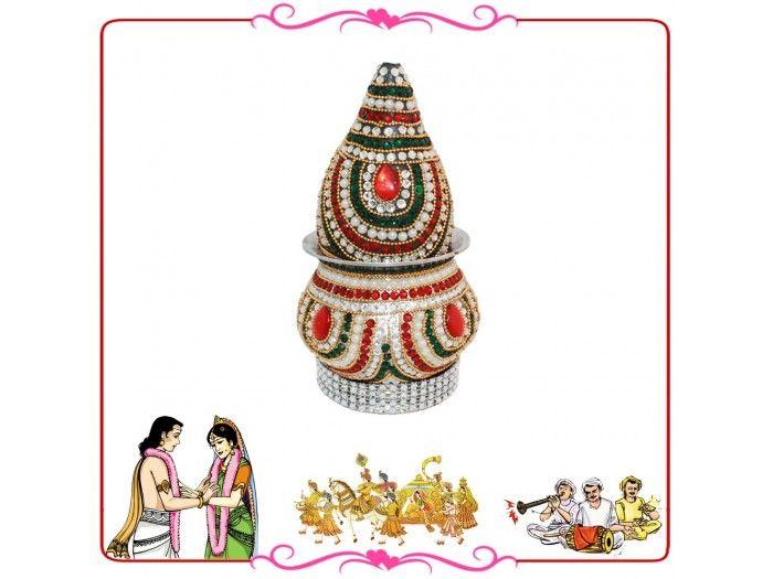 Wedding Kalash, Buy Wedding Kalash online from India.