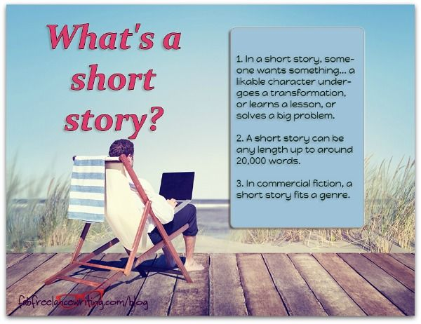 A short story is complete in itself. If you want to sell short stories, they need to be commercial, and satisfying to readers. Here's how to write them.