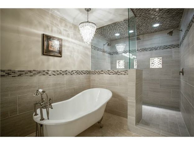 This Is One Of Four Full Bathrooms In 4246 Northview Lane Dallas At The