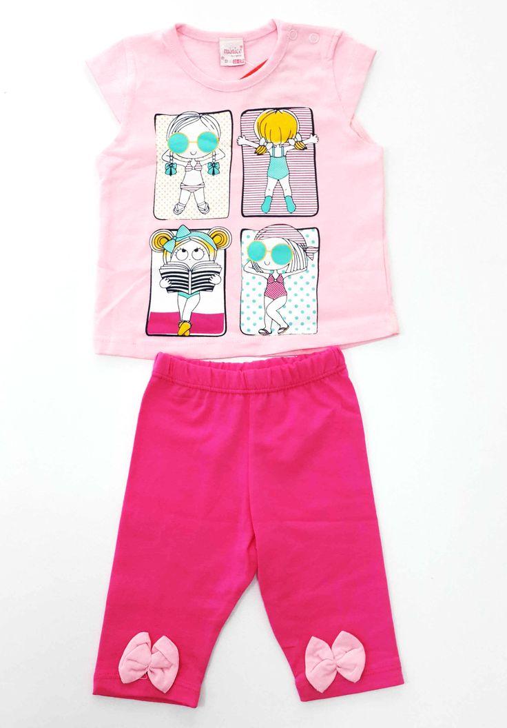 Minice Kids Tatildeki Kız Baskılı Kaprili Kız Bebek Takımı 3-6,9-12,12-18 ay bedenleri mevcuttur. 19,90 TL Mağazamızda ve online satış sitemizde satıştadır. http://www.hepsinerakip.com/minice-kids-tatildeki-kiz-baskili-kaprili-kiz-bebek-takimi-pembe