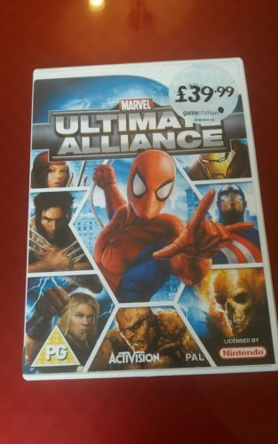 #Marvel ultimate alliance #spiderman game #nintendo wii & wii u - vgc kids who ga,  View more on the LINK: http://www.zeppy.io/product/gb/2/152333901306/