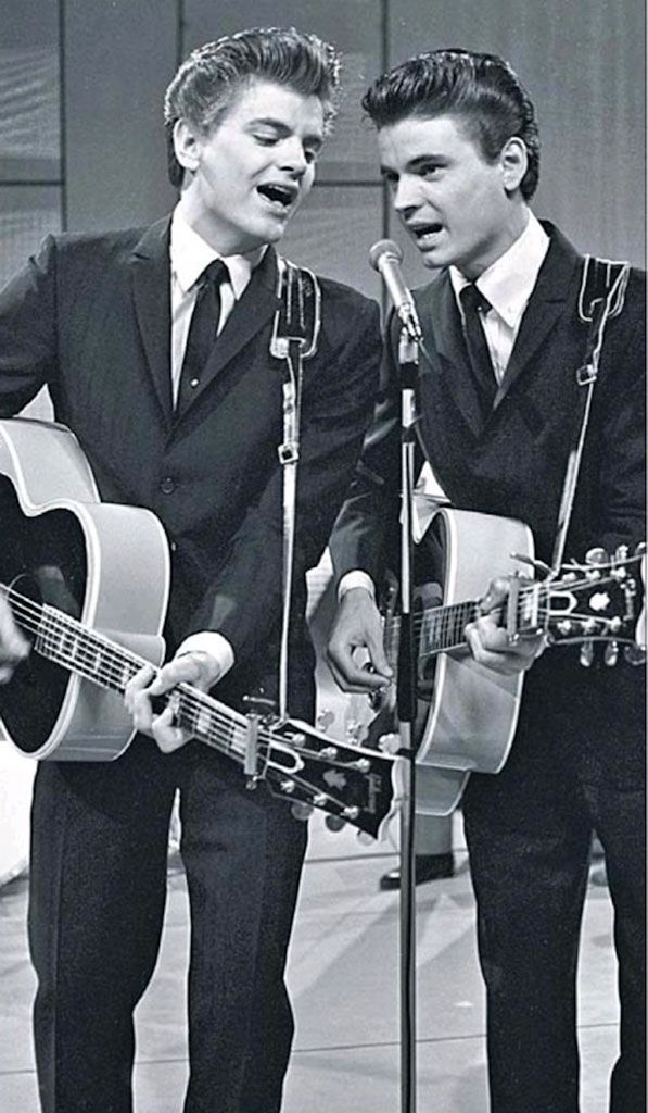 The Everly Brothers…. Such beautiful harmonies. Spoke the minds of the teenagers at the time with 'yearning'