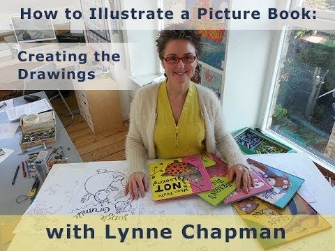 How to Illustrate a Children's Book - creating all the line-drawings for the illustrations, stage by stage, ready to submit to a publisher. Award-winning illustrator Lynne Chapman talks you through the process. www.lynnechapman.co.uk
