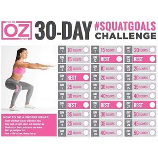 my weightloss journey: Dr Oz's 30 Day Squat Challenge healthandfitnessnewswire.com