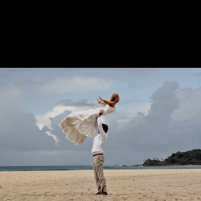 Dirty Dancing wedding photo. :)