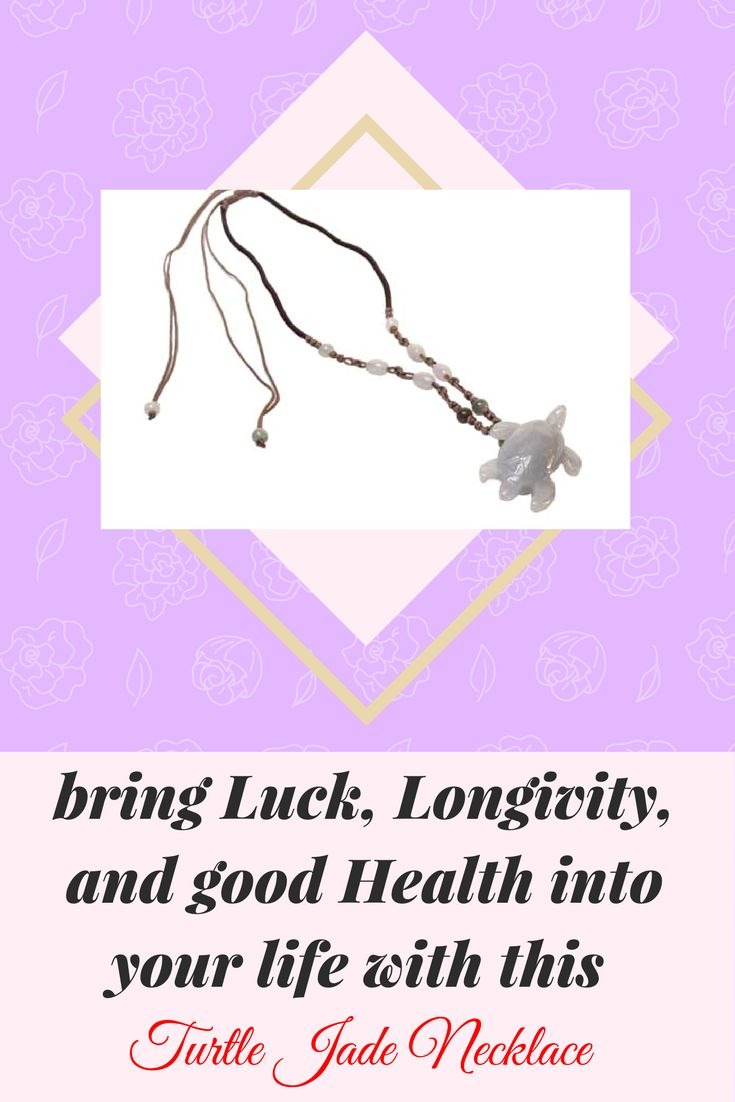 23 best feng shui necklaces handmade jade stone jewelry images on surround yourself with this chinese symbol for long life a turtle in buycottarizona