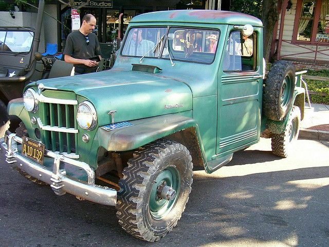 Willys Jeep Pick Up | 1960 Willys Jeep 4x4 Pickup 'A10 139' 1 | Flickr - Photo Sharing!
