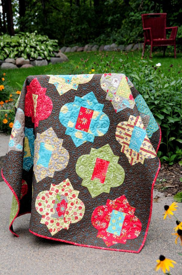 15 best Quilts images on Pinterest   Indian quilt, Asian quilts ... : moroccan quilts - Adamdwight.com