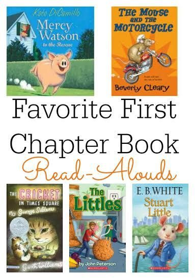 Favorite First Chapter Book Read-Alouds | Guest post of Growing Book by Book for This Reading Mama