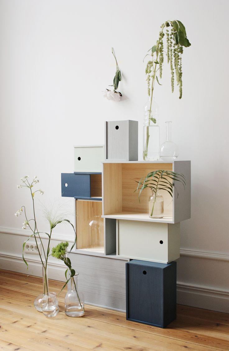 System Boxes by Lundia, designed by Joanna Laajisto. From the beautiful blog NETTANATALIAS.