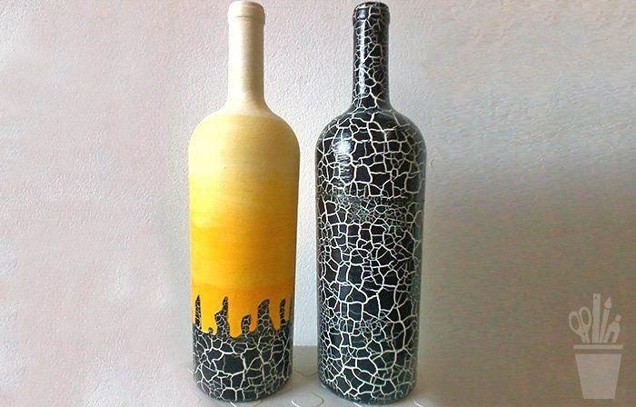 Mural da Vila com reciclagem de garrafas