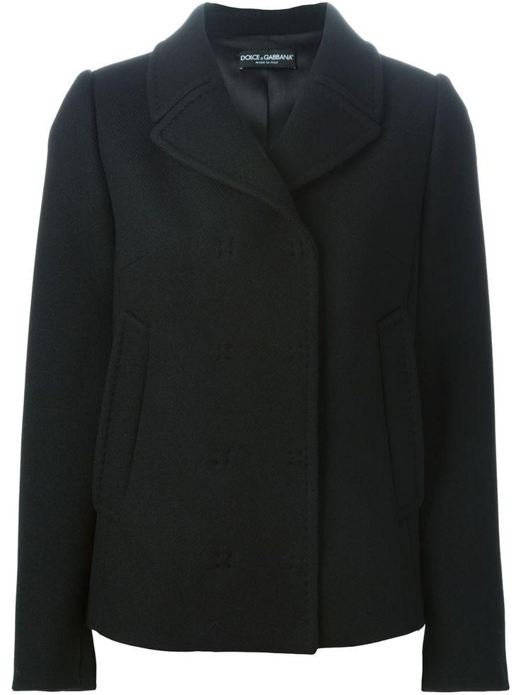 Dolce & Gabbana Short Double Breasted Coat - Tiziana Fausti - Farfetch.com