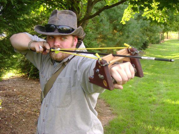 Fox Slingshot / Slingbow Hunting & Survival by Junk2Steampunk, $49.00