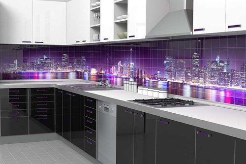 Mutfak 3D Cam Mozaik MTF  8513- 1