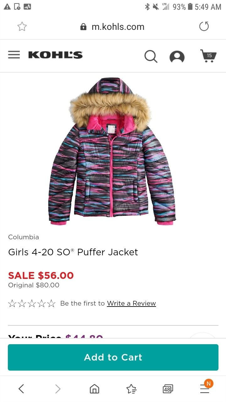 Pin By Brianna Liquori On X14 Sold Out Cant Find Grown Out Dont Need X14 Columbia Girls Jacket Sale Puffer Jackets [ 1280 x 720 Pixel ]