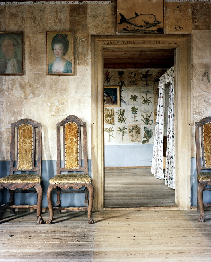 Soulful interiors. Hammarby, 18th c.