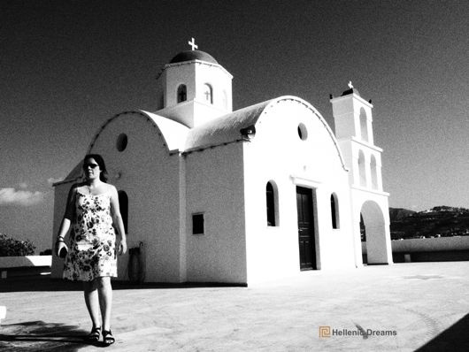 Santorini churches #Santorini #weddings