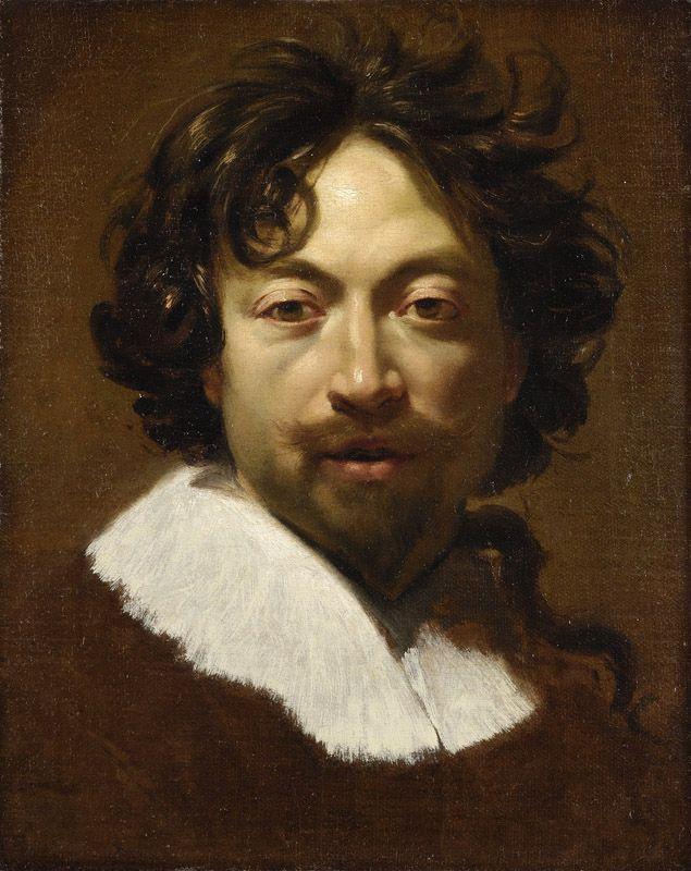 Simon Vouet Autoportrait
