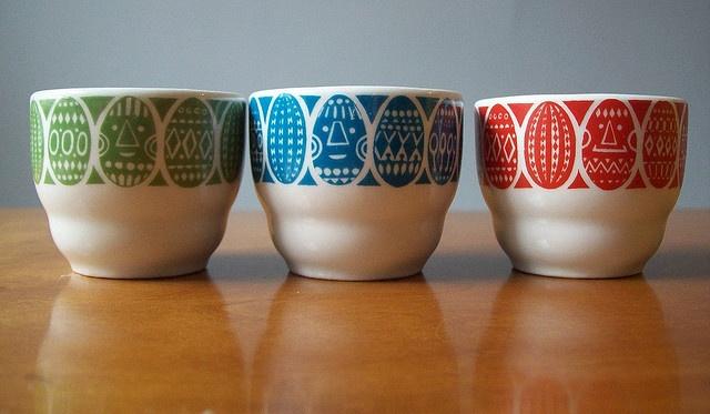 Arabia egg cups