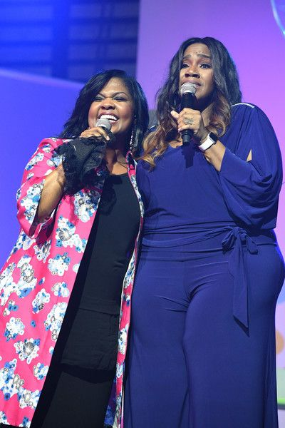 Cece Winans and Kelly Price perform onstage at the 2017 ESSENCE Festival presented by Coca-Cola at Ernest N. Morial Convention Center on July 2, 2017 in New Orleans, Louisiana. - 2017 ESSENCE Festival Presented by Coca-Cola Ernest N. Morial Convention Center - Day 3