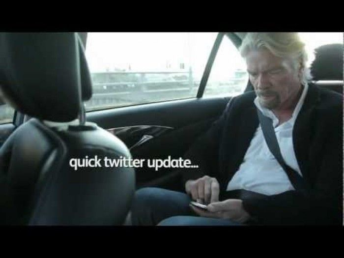 Richard Branson: A day in the life