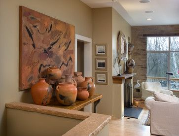 Style Secret: Earthen Pottery -     Pottery in rich terra-cotta and earth tones is just right for the Southwestern sensibility. Mingle matte and glazed finishes with solid colors and painted designs for variety and interest.