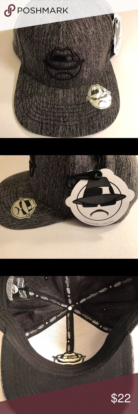 LOWRIDER Snap Back Flat Bill Cap NWT Men's. LOWRIDER Men's Snap Back Flat Bill Baseball cap. Color Gray and Black. Accessories Hats