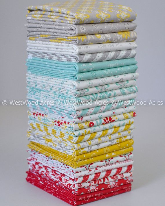 Baby Jane Fat Quarter Bundle by Eric and Julie Comstock for Moda Fabrics 27 Piece COMPLETE