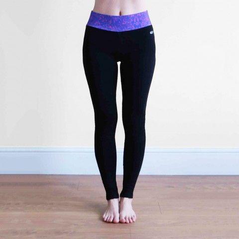 Air Vinyasa Cotton Yoga Leggings, Full length, Ethical and Natural