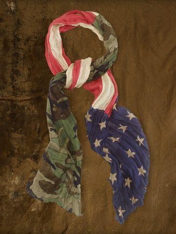 Camo American Flag Scarf - Denim & Supply  Scarves - RalphLauren.com