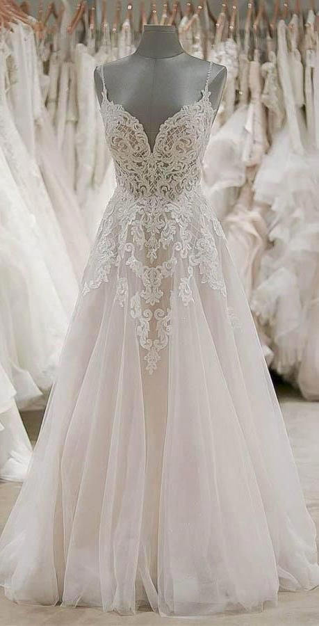 A number of these brides are fortunate. They may browse high and low, braving ch… – wedding dress