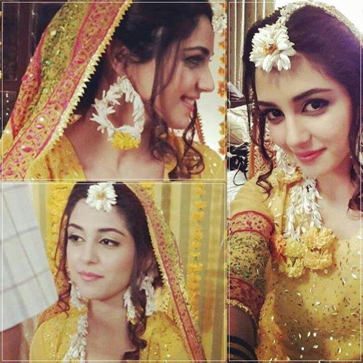 Bride in haldi outfit