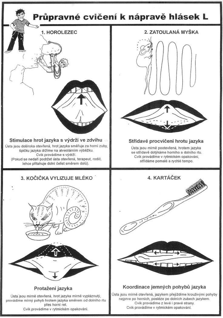 Logopedické cvičení - velký obrázek 03