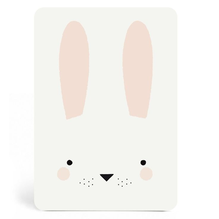 New ! Carte Bunny Boy | Zü