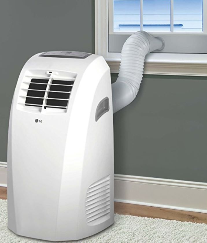 Portable Air Conditioner Lg W Remote Control Window Vent