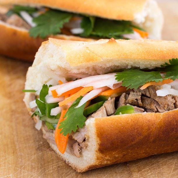 Banh-mi (sandwich vietnamien épicé)