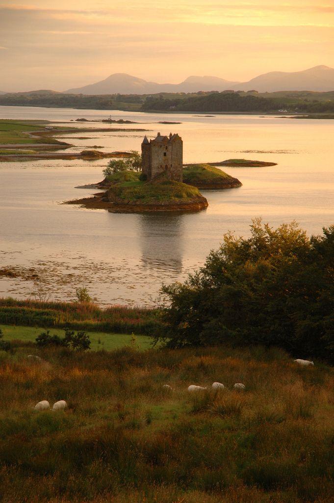 Stalker Castle, Scotland (by Mino)