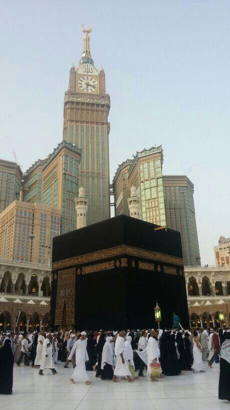 one day i'waana be at Kaaba, Mecca.