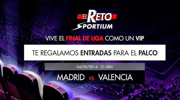 sorteo dos entradas palco vip santiago bernabeu real madrid vs valencia 1 mayo