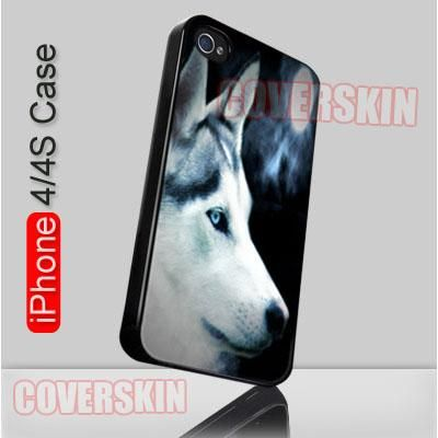 Wolf Wolves Blue Moon Fantacy iPhone 4 or 4S Case Cover