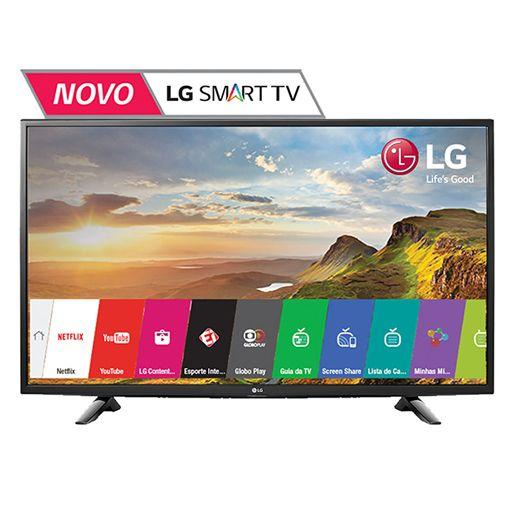 Smart TV LED Full HD 49 polegadas de imagens intensas!