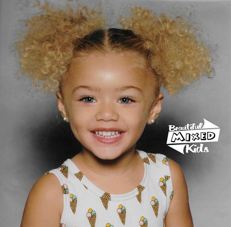 Kaia - 2 Years • Mom: Italian, Irish & German • Dad: African American ❤  FOLLOW @BEAUTIFULMIXEDKIDS http://instagram.com/beautifulmixedkids