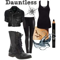 Dauntless clothes.