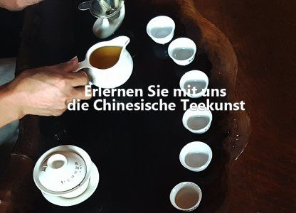 China's Kunst der Teezubereitung