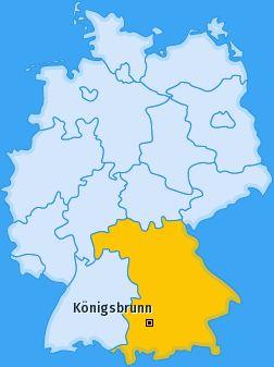 PLZ Königsbrunn - Bayern Postleitzahlen 86343 Augsburg Deutschland
