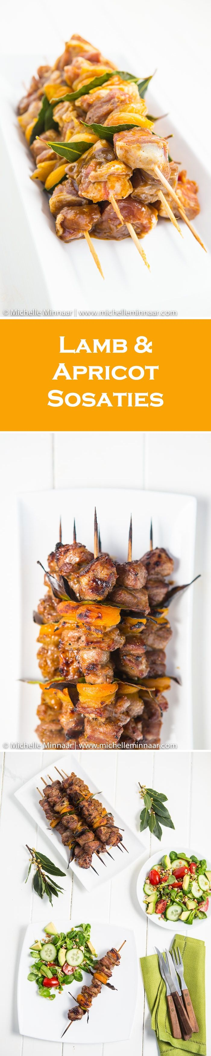 Lamb & Apricot Sosaties - South African barbecue at its best!
