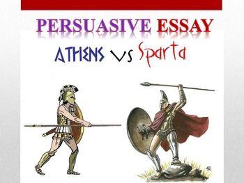Athens vs sparta essays