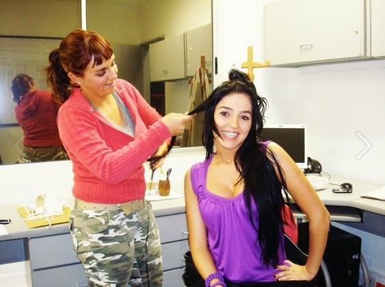 Make up: Natalia Mejia