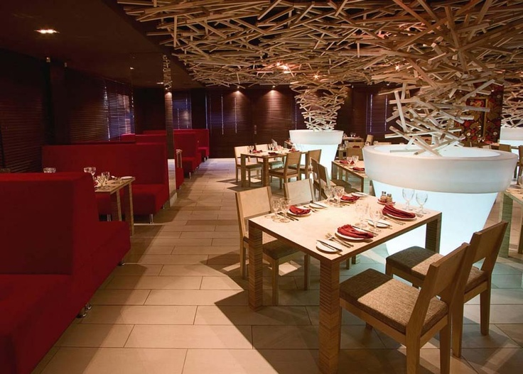 26 best cool restaurant interiors images on pinterest