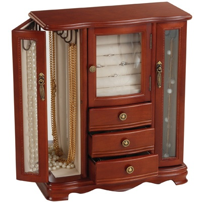 39 best jewelry boxes cabinets a place for every images for Indian jewelry store richmond va